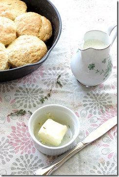 Lemon Herb Biscuits